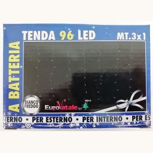 TENDA 96 LED INTERNO/ESTERNO A BATTERIA MT.3X1